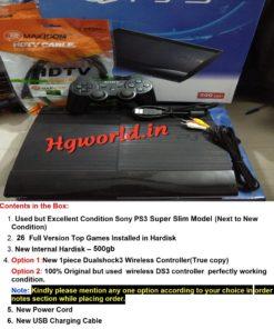 PS3 SS 500GB
