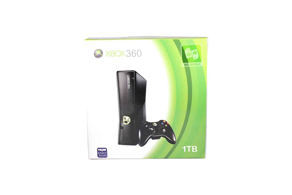 Used Microsoft Xbox 360 S 1tb Hdd Fully Loaded With 120