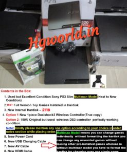 PS3 SLIM 2TB CFW