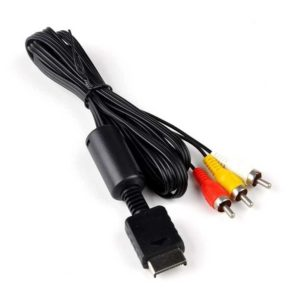 Audio Video AV cable for PS2 and PS3