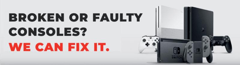 broken or faulty