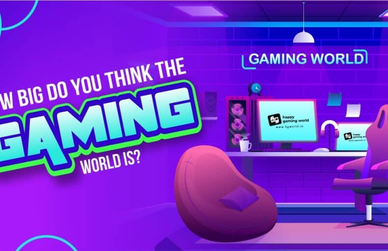 How big is the gaming world