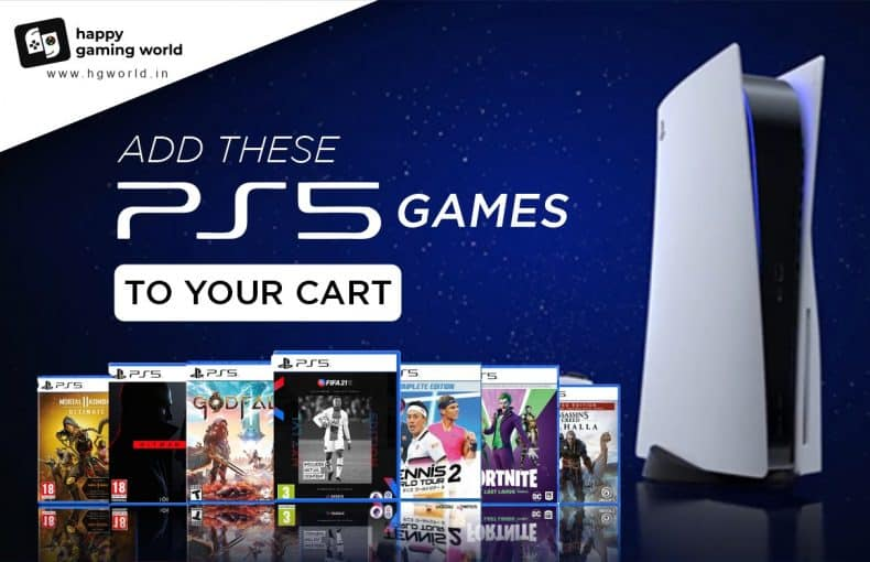 Add these ps5 games to your cart